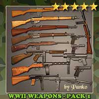 Ww2 allied weapons